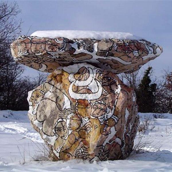 Sous la neige - Vence